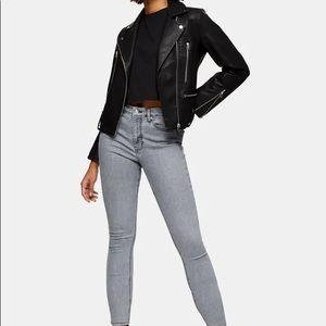 TopShop   Jamie High-Waisted Skinny Jeans   Petite